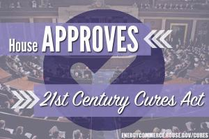 Cures Bill is Approved