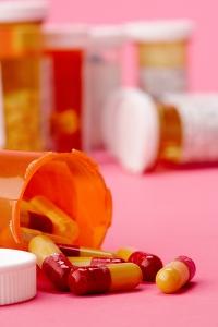 Pills in bottles