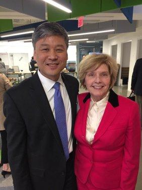 Choi and ASN President