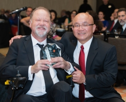 Derek Forfang Presidents Dinner
