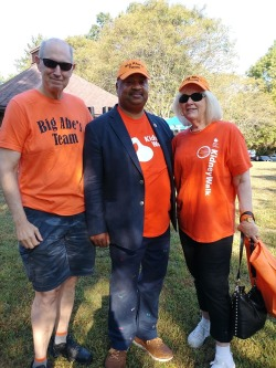 Rosensteins & Rep Payne at NKF Walk 2019